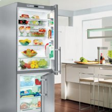 "30"" Freestanding Refrigerator & Freezer Premium, NoFrost ~ door hinges left, without IceMaker"