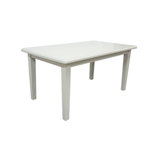 Dining Table, Available in Cottage White Finish Only.
