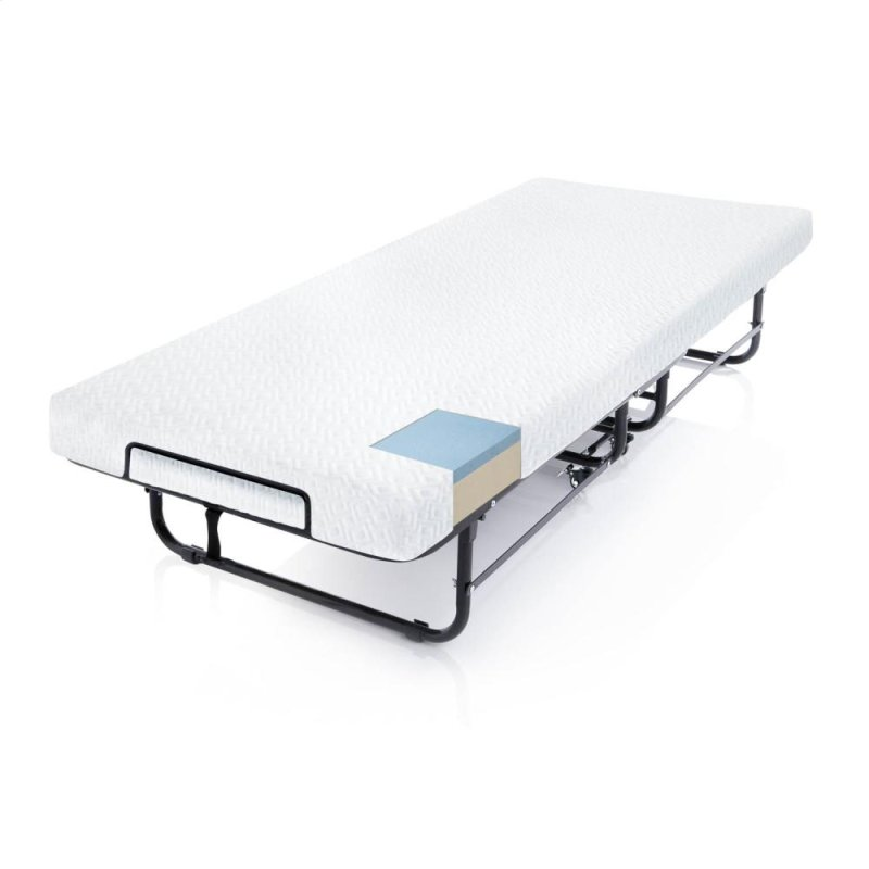 x bed h com dining w cot home source with rollaway kitchen l amazon folding dp mattress industries