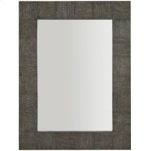 Linea Mirror in Cerused Charcoal (384)