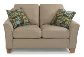 Claudine Fabric Loveseat