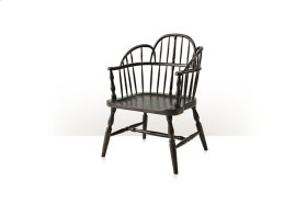 Rustic Hickory Accent Chair