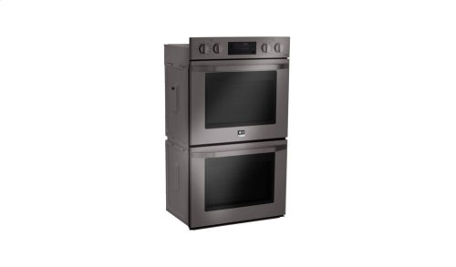 LG STUDIO - 4.7 cu. ft. Double Built-In Wall Oven