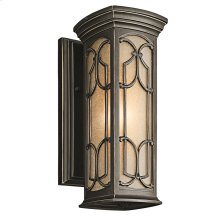 Franceasi Collection Franceasi 1 Light Outdoor Wall Light in OZ