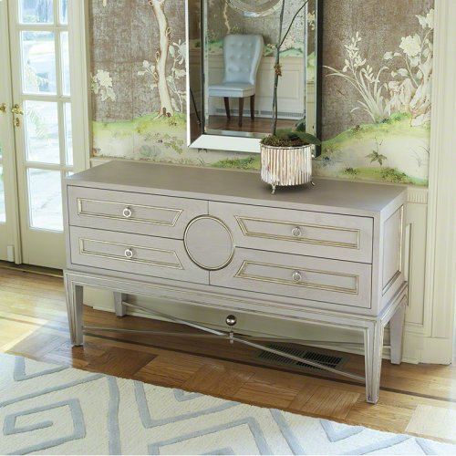 Collector's Cabinet Console-Grey