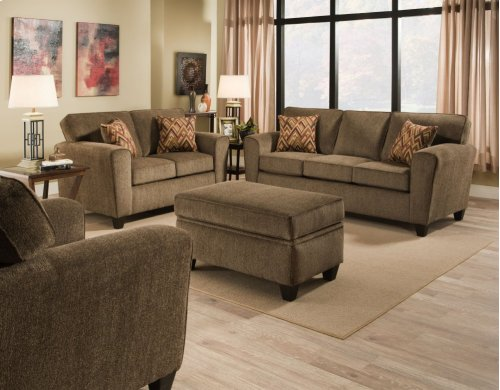3100 - Cornell Pewter Sofa