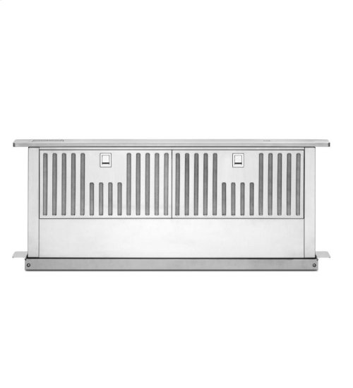 """KitchenAid® 36"""" Retractable Downdraft System, 600 CFM Architect® Series II - Stainless Steel"""