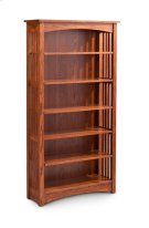 Mission Open Bookcase, Mission Open Bookcase, 3-Adjustable Shelves Product Image
