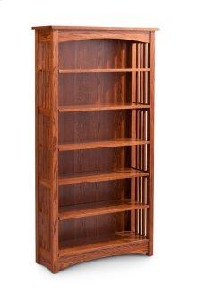 Mission Open Bookcase, Mission Open Bookcase, 1-Adjustable Shelf