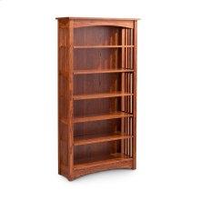 Mission Open Bookcase, Mission Open Bookcase, 5-Adjustable Shelves