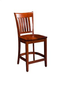 "Kaskaskia Stationary Barstool, 30"" Seat Height"