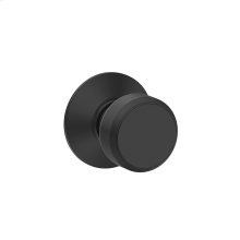 Bowery Knob Hall & Closet Lock - Matte Black