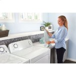 Amana 6.5 Cu. Ft. Electric Dryer With Wrinkle Prevent Option - White
