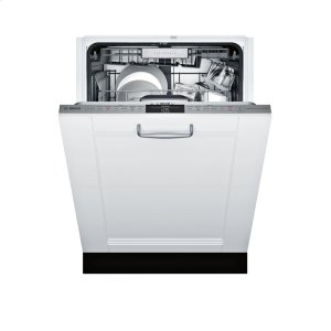 Bosch800 Custom Panel, 6/6 cycles, 40 dBA, Prem 3rd Rck, UR glide, Touch Cntrls, InfoLight - CP