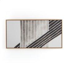 Planes Print W/ Floating Oak Frame-jess