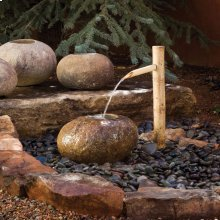 Small Bamboo Water Spout for Ishi Basin