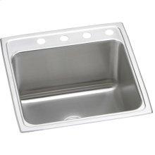 """Elkay Lustertone Classic Stainless Steel 22"""" x 22"""" x 12-1/8"""", Single Bowl Drop-in Sink"""