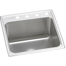 "Elkay Lustertone Classic Stainless Steel 22"" x 22"" x 12-1/8"", Single Bowl Drop-in Sink"