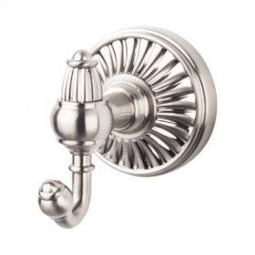 Tuscany Bath Double Hook - Brushed Satin Nickel