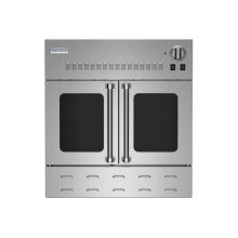 "30"" Gas Wall Oven with French Doors"