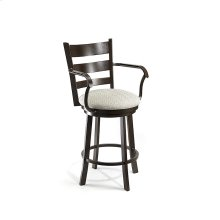 Hayward B510H26AS Swivel Back and Arms Bar Stool