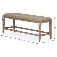 Smith Building Parlor Bench