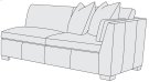 Ellington Right Arm Loveseat Product Image