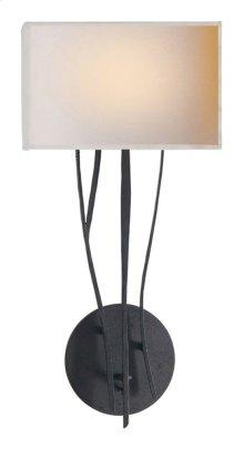 Visual Comfort S2050BR-NP Ian K. Fowler Aspen 1 Light 9 inch Hand Painted Blackened Rust Decorative Wall Light