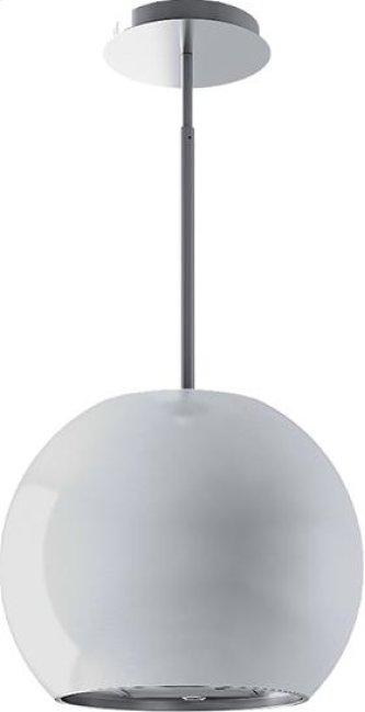 White Sphera Range Hood