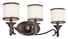 Lacey 3 Light Vanity Light Mission Bronze