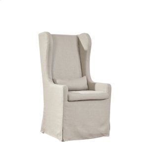 Highback Linen Host Chair