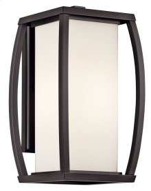 "Bowen 15.75"" Wall Light Architectural Bronze"