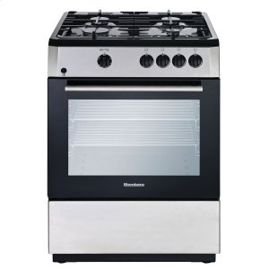 "Blomberg Appliances24"" Freestanding gas range, Stainless Steel"