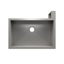 "SocialCorner® 005303 - undermount with apron front stainless steel Kitchen sink , 29"" × 18"" × 10"" Right corner"