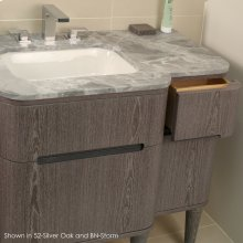 Quartz countertop for vanity H273R.