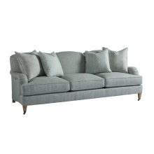 Sydney Sofa With Brass Caster