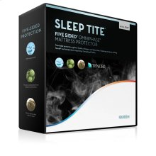 Five 5ided Mattress Protector with Tencel + Omniphase - Queen Pillow Protector