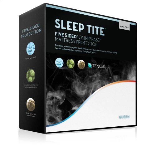 Five 5ided Mattress Protector with Tencel + Omniphase - Split King