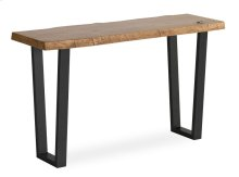 Tea Tree Console Table Metal Base