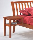 Clove Hook-on Nightstand in Cherry Finish Product Image