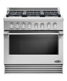 "36"" duel fuel Range 6 burner natural gas Product Image"