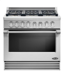 "36"" duel fuel Range 6 burner natural gas"