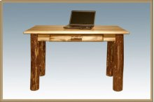 Glacier Country Log Writing Desk