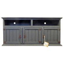 Slate 3 Door TV Stand