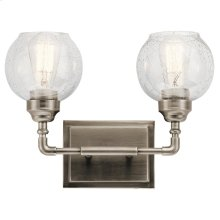 Niles Collection Niles 2 Light Bath Light AP