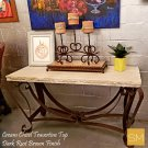 * Travertine Console Table 1229 C Product Image