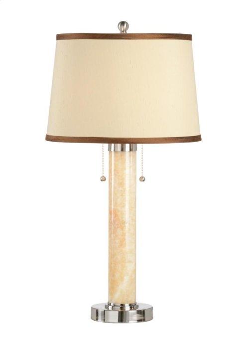 Marble Column Lamp
