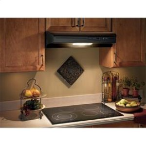 "Broan 220 CFM, 30"" Undercabinet Hood in Black"