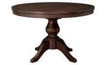 Trudell - Dark Brown Dining Room Table