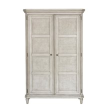 Linen Grace 4 Drawer Armoire